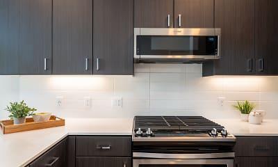 Kitchen, MV Apartments, 1