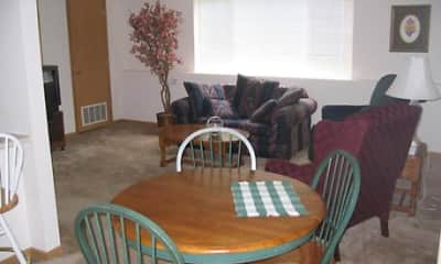 Dining Room, Robert's Apartments, 1