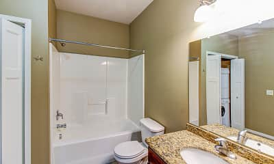 Bathroom, Heartland Fields, 2