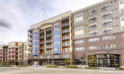 Building, Urbana Apartments, 1