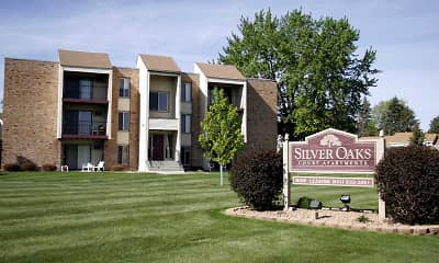 Community Signage, Silver Oaks Court Apartments, 0
