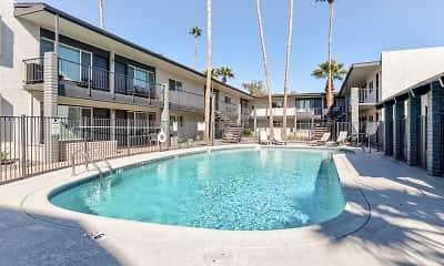 Pool, Cactus Canyon, 2