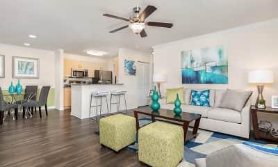 Living Room, Landings at Lake Gray, 1