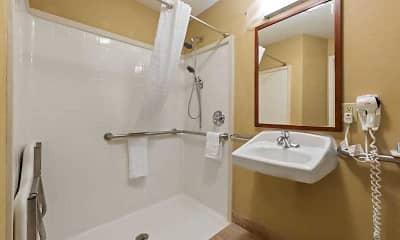 Bathroom, Furnished Studio - Houston - Katy I-10, 2