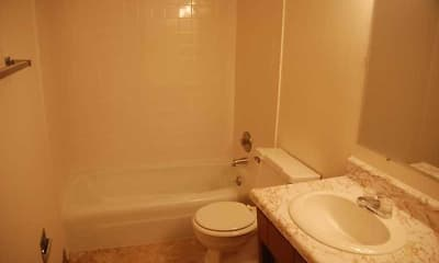 Bathroom, 1313-1325 S. Taylor Street, 2
