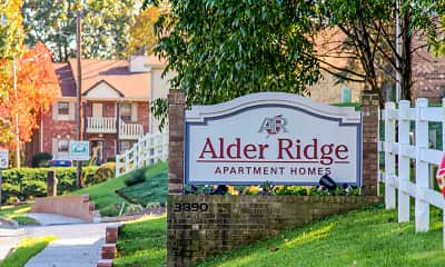 Community Signage, Alder Ridge Apartments, 0