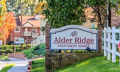 Community Signage, Alder Ridge Apartments, 0
