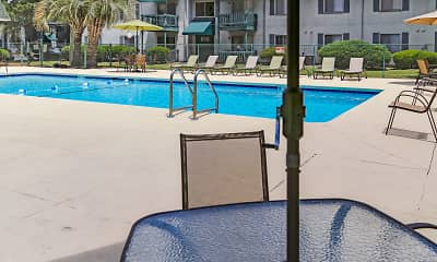 Pool, Timberland Apartments, 0