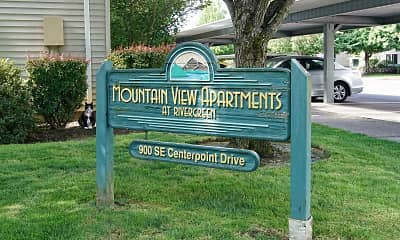 Community Signage, Mountain View Apts at Rivergreen, 2