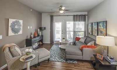 Living Room, Bridge at Southpark Meadows, 0