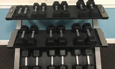 Fitness Weight Room, Lakewood Apartments, 0