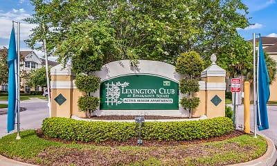 Community Signage, Lexington Club at Renaissance Square 62+, 1
