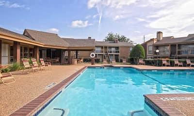 Pool, Keller Oaks Apartments, 0