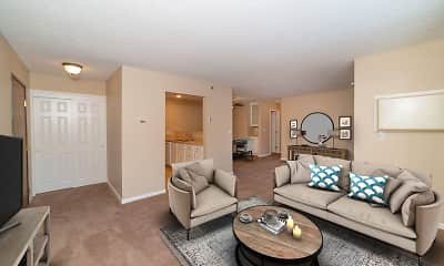 Living Room, Somerset Oaks, 0