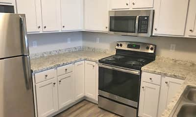 Kitchen, East Gate Apartments, 1
