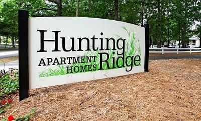 Community Signage, Hunting Ridge, 2