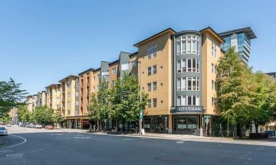 Building, City Square Bellevue, 1