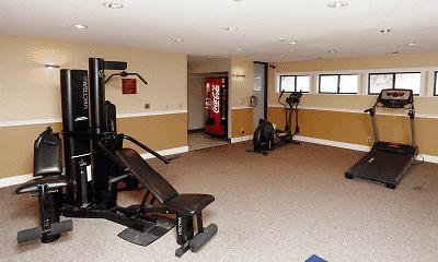 Fitness Weight Room, Abington, 1