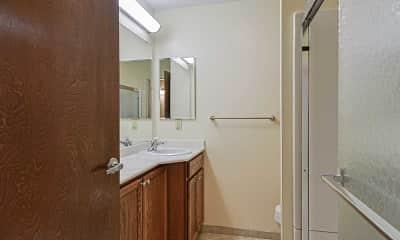 Bathroom, Governor's Manor Apartments, 2