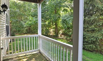 Patio / Deck, Fairfield Gables At South Setauket, 2