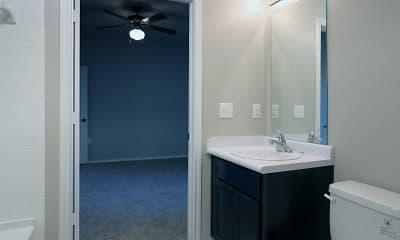 Bathroom, Greenmark At Andrews Apartments, 2