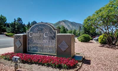 Community Signage, Country Club Meadows, 1