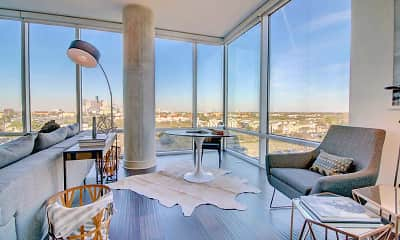 Living Room, 77030 Luxury Properties, 0