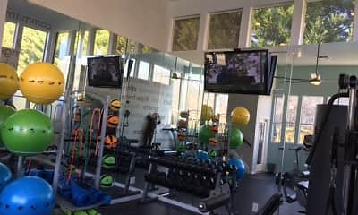 Fitness Weight Room, Highland Oaks, 2