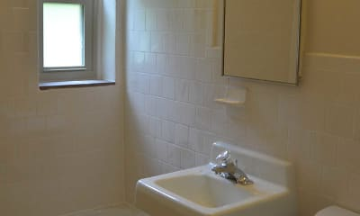 Bathroom, Aspen Court Apartments, 2