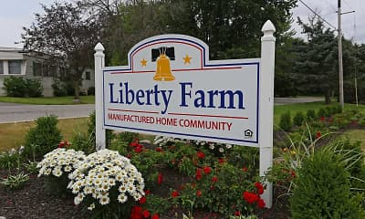 Community Signage, Liberty Farm, 2