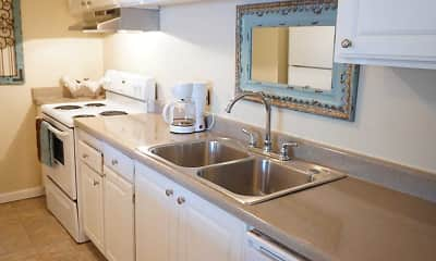 Kitchen, Roselake Apartments, 1