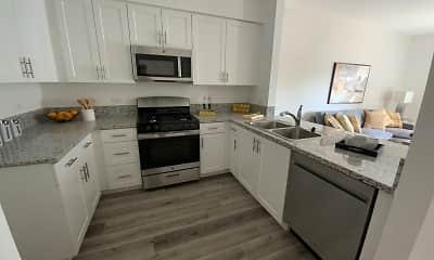 Kitchen, Garden Springs 55+ Senior Apartments, 1