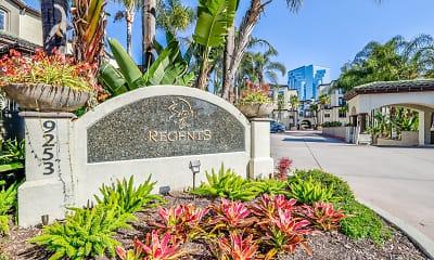 Community Signage, Regents La Jolla, 2