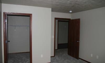 Bedroom, Depot Apartments, 2