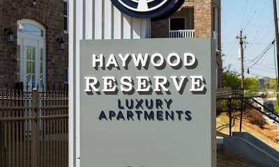 Community Signage, Haywood Reserve, 2