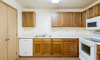 Kitchen, Oakland Pointe, 0