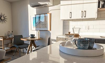 Kitchen, Modera South Lake Union, 1