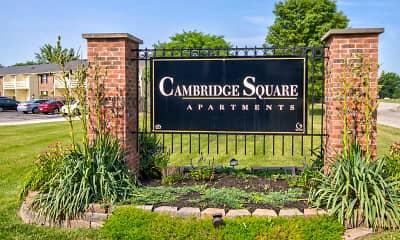 Community Signage, Cambridge Square Marion, 2
