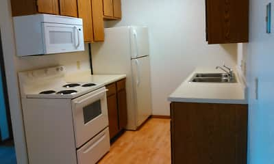 Kitchen, Prairie Tree Apartments, 0