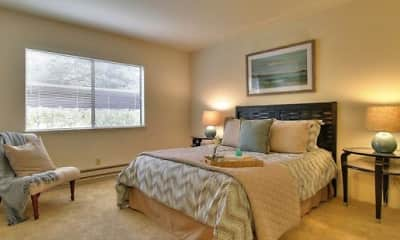 Bedroom, Old County Road Apartments, 2