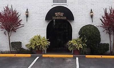Community Signage, Morgan Manor, 2
