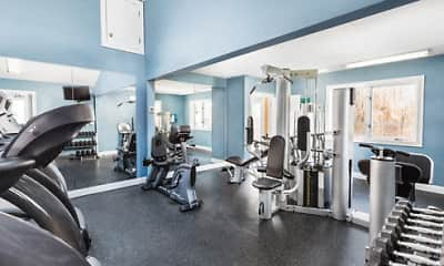 Fitness Weight Room, Waterfall Hills At Canton, 2
