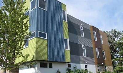 Building, Mosaic Apartments, 2