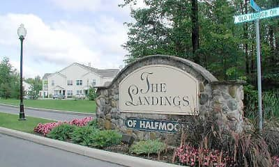 Community Signage, The Landings, 0