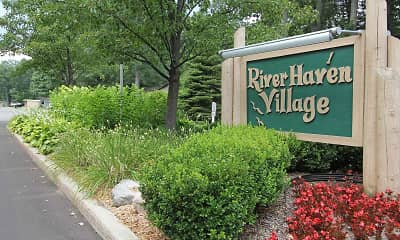 Community Signage, River Haven Village, 1