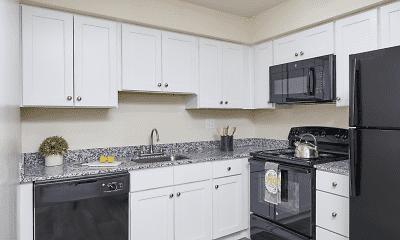 Kitchen, Village Square Apartments, 0