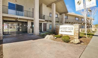 Community Signage, Racquet Club Apartments, 2