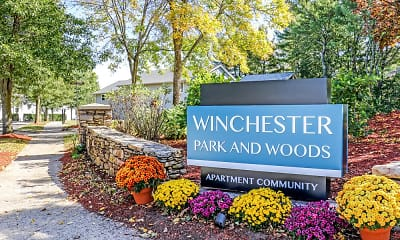 Community Signage, Winchester Park & Woods, 2
