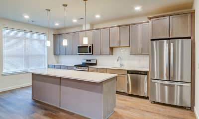 Kitchen, Cider Mill Townhomes, 1