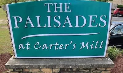 Community Signage, Palisades at Carter's Mill, 1